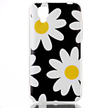 Flower Pattern TPU Phone Case for Wiko Sunset