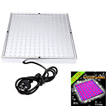 HRY® 10W 225LED 700LM 165Red+60Blue LED Panel Grow Lights for Hydroponic Lighting European plug(220V)
