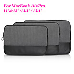cuir véritable pochette pour ordinateur portable antichoc sac sacoche pour ordinateur portable de couverture pour Apple iPad / MacBook Air