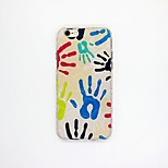 Hand Pattern TPU Relief Cover Case for iPhone 6/6S