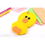 Silicone Material Solid Yellow Chicken Style for iPhone 6/6S