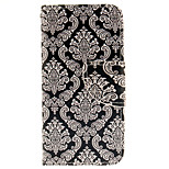 exquisite dekorative Design-Muster PU-Leder Ganzkörper-Fall mit Einbauschlitz und Stand TPU Abdeckung für iPod-Note 5