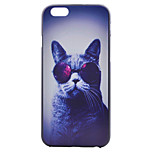 Cat Painting Pattern PC Case for iPhone 6/6S