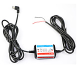 DearRoad 12V-24V Exclusive Power Box Hardwire Battery Discharge Prevention for Car DVR Interface Micro USB