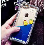 High Quality Yellow Duck Quicksand Back Cover for iPhone 6 (Random Colors)