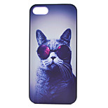 Cat Painting Pattern PC Case for iPhone 5/5S
