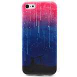 Star Painting Pattern TPU Soft Case for iPhone 5C