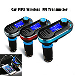 Car MP3 Wireless  FM Transmitter For USB SD TF Card 12V~24V