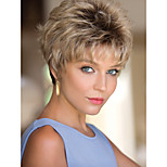 Elegant Syntheic Wigs Extensions Top Quality Mixture Color  Wig And Beautiful Style