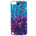 Flower Tree Painting Pattern TPU Soft Case for iPod Touch 5