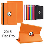 Rotate Lichee Pattern Folding Simple Computer Protection Shell for iphong ipad pro 12.9 Assorted Colors