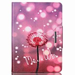 Dandelion Pattern PU Leather Full Body Case With Stand for iPad Air 2