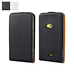 Solid color Light Surface Pattern  Full Body Flip Case for Nokia Lumia 625(Assorted Colors)