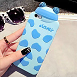 LADY®Luxurious/Elegant/Personality Phone Case for iphone 5/5s(4.0 inch), Cartoon Style and Silicone Materials