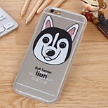 Cute Cartoon Dog TPU Silk Pattern Cases for iPhone6/iPhone 6s(Assorted Colors)