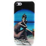 Naked Woman Painting Pattern TPU Soft Case for iPhone 5C