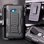 DE JI Future Armor Impact Holster Hybrid Hard Case for Microsoft Nokia Lumia 640 Phone Case Cover