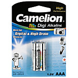 Camelion Digi Alkaline Primary Batteries Size AAA (2pcs)
