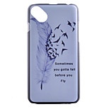 Feather Painting Pattern PC Hard Case for Wiko Sunset 2