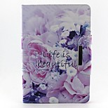 Beautiful Life Pattern Hard Case for iPad mini 3, iPad mini 2, iPad mini