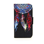 Colorful Wind Chime PU Leather Wallet Full Body Case with Stand for Nokia Lumia 630/635