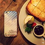 dicendo ciao a pelle e tpu posteriore Case for iPhone pu modello nave di alta qualità 6 6s / iphone (colori assortiti)