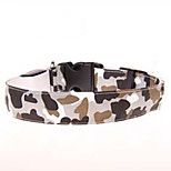 Camouflage Highlight Night Safety LED Flash Collar for Dogs(Assorted Size,Assorted Color)
