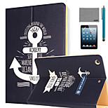 lexy® modello diario vela caso del basamento del cuoio dell'unità di elaborazione di vibrazione con la protezione dello schermo e lo stilo