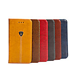 High Quality T Letter PU Leather Flip Case Cover for iPhone 6/6S(Assorted Colors)