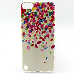 Flower Painting Pattern TPU Soft Case for iPod Touch 5