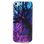 Branch Pattern TPU Material Hemming Soft Phone Case for iPhone 5C