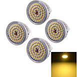 Spot Décorative Blanc Chaud YouOKLight 4 pièces A50 GU5.3 7 W 48 SMD 2835 600 LM DC 12 V