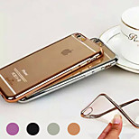 Electroplating TPU Material Phone Case for iPhone 6/ 6S (Assorted Colors)