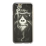Smoking Gorilla Pattern PC Hard Case for iPhone 6/6S