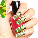 1pcs - Autocollants 3D pour ongles / Bijoux pour ongles - Doigt - en Punk - 145*75mm