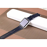 Lichee Pattern Watchband Simple Women And men Pu for Apple Watch38/42mm Assorted Colors