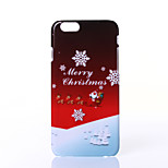 Christmas Carriage Pattern PC Hard Case for iPhone 6 Plus/6s Plus