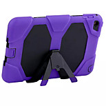 ShockProof Hybrid Heavy Duty Slim Armor Case Cover PC+Silicon Case for iPad Mini 4(Assorted Color)