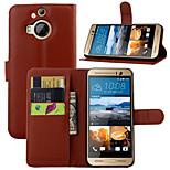 geprägte Kartenhalterung Schutzhülle für HTC One M9 + Mobiltelefon