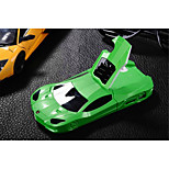 Cool Phone Case Sports Racing Car Shape Hard Plastic Stand Case Back Cover For iPhone 4/4S(Assorted Color)