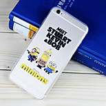Small Partner Pattern TPU Material Soft Phone Case for iPhone 6/6S