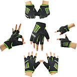 Sports Outdoors Tactical Motocross Fingerless Gloves Mountain Road Riding Bicycle Gloves Cycling Outsport Glove Black