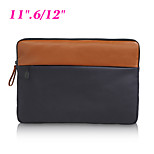 Business Laptop Sleeve Bag Soft Canvas Shockproof Notebook Cover Case for Dell/Apple iPad/Macbook Pro Air 11.6
