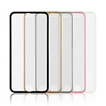 Front color side Aluminium tempered glass transparent screen protector for iPhone6 for iphone6s 4.7 inch(Assorted Color)