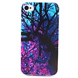 Plum Blossom Pattern TPU Case for iphone 4G/4S