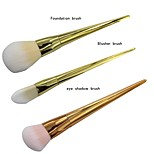 Real Techniques Bold Metals Collection Cosmetic Makeup Face Brushes Choose from all 7(1PCS)