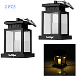 YouOKLight® 2PCS Solar 0.06W 30lm Warm White LED Outdoor Camping Courtyard Decoration Lamp