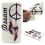 Dream Catcher Words Phrase Pattern 0.6mm Ultra-Thin Soft Case for Lumia N540