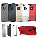 The Second-Generation Triple With Stand Phone Case for iPhone 6/6S(Assorted Colors)