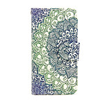 Broccoli Design PU Leather Full Body Case with Stand and Card Slot for Sony Xperia M4 Aqua